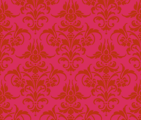 Nina fabric by peacoquettedesigns on Spoonflower - custom fabric