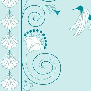 Art Deco, Humming Bird