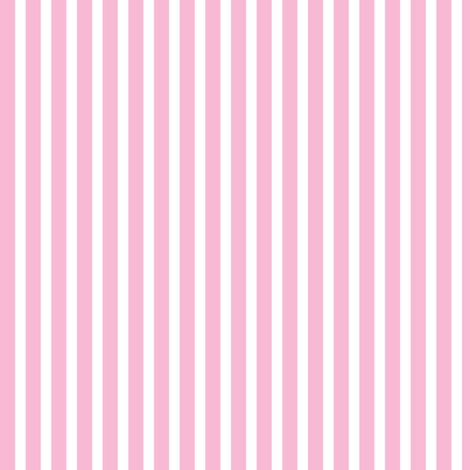 sweet girl - pink stripes fabric by misstiina on Spoonflower - custom fabric