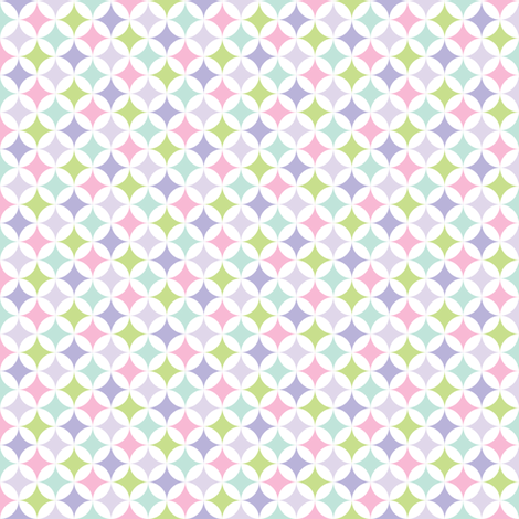 sweet girl - sweetcake fabric by misstiina on Spoonflower - custom fabric