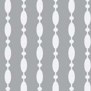beaded curtain-reverse charcoal