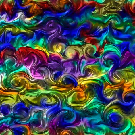 Eye of the dragon by Su_G fabric by su_g on Spoonflower - custom fabric