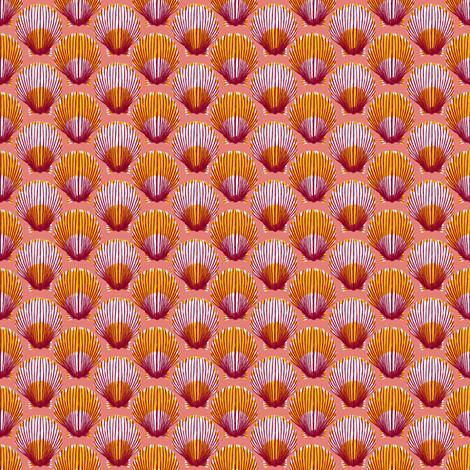 Scallops fabric by siya on Spoonflower - custom fabric