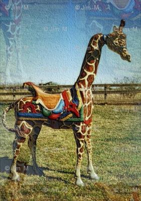 carousel_giraffe_fabric