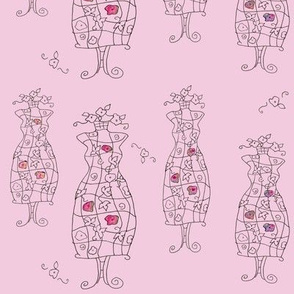 Pink Dress Forms