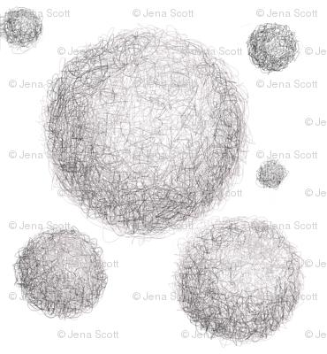 Mothballs on White Background
