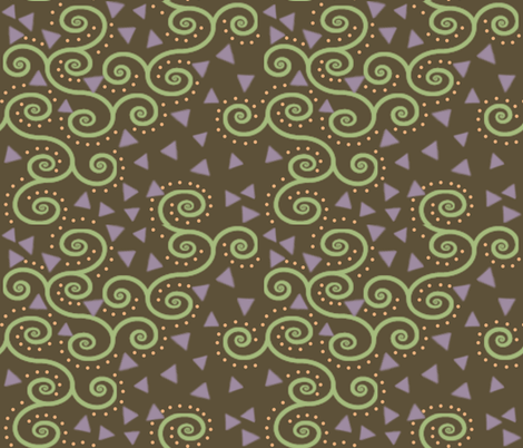 Deco Confetti fabric by poetryqn on Spoonflower - custom fabric
