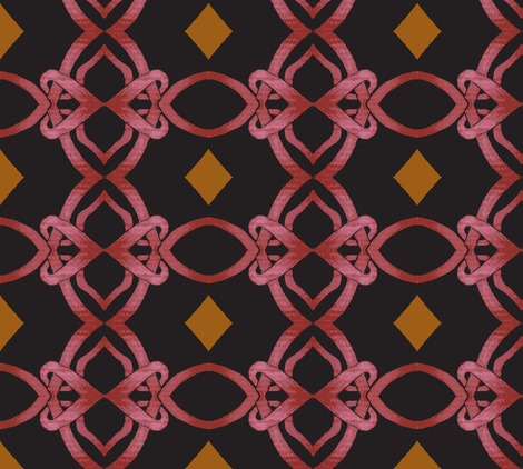 Linked fabric by monasol on Spoonflower - custom fabric