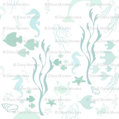 El Mar Caribe - Caribean Sea