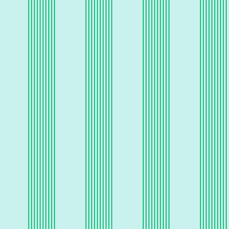 serene stripes (cool mint) fabric by weavingmajor on Spoonflower - custom fabric