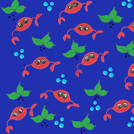Just Crabby fabric by scoutmom131 on Spoonflower - custom fabric