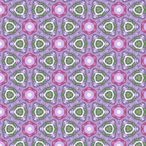 Gloria's Lilypads fabric by siya on Spoonflower - custom fabric