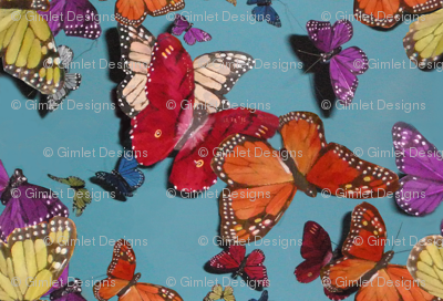 Butterflies and Blue Skies