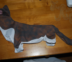 ©2012 Cut & Sew large Cardigan Welsh Corgi - Brindle