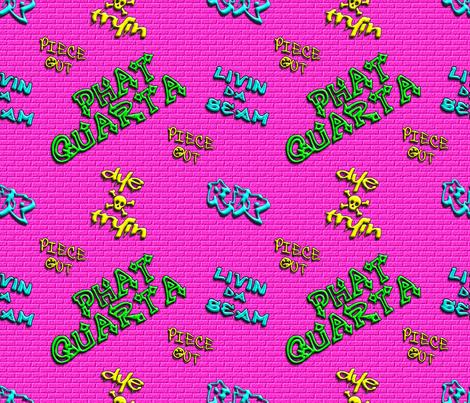 Phat Quarta fabric by dollyw on Spoonflower - custom fabric