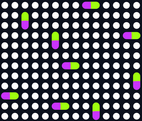 art_deco_03 fabric by mikomiko on Spoonflower - custom fabric