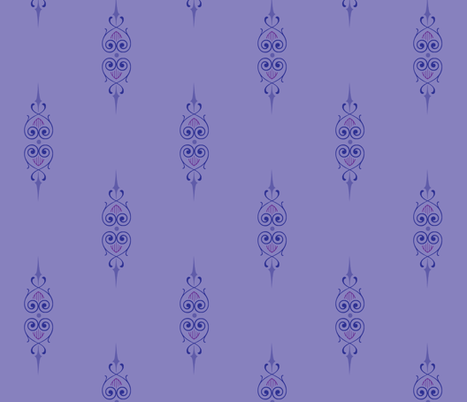 art_deco_2a fabric by wiccked on Spoonflower - custom fabric