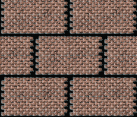 brick-itti fabric by koko_chica on Spoonflower - custom fabric