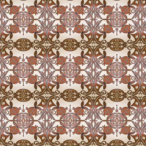 Hopi Pottery Print 2 fabric by treina on Spoonflower - custom fabric