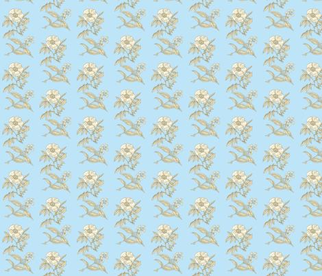 les_fleurs fabric by mammajamma on Spoonflower - custom fabric