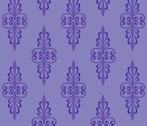 art_deco_1 fabric by wiccked on Spoonflower - custom fabric