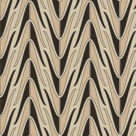 A Game of Shells fabric by david_kent_collections on Spoonflower - custom fabric