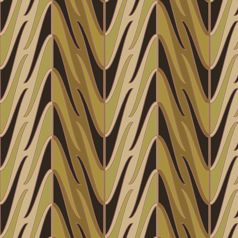 A_Game_of_Leaves fabric by david_kent_collections on Spoonflower - custom fabric