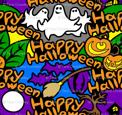 Happy Halloween (Graffiti Style)