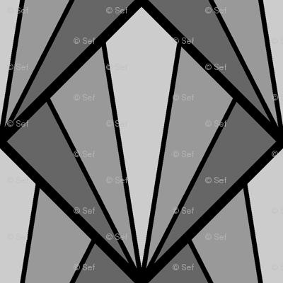 deco diamond 5K : grey