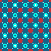 red blue dots