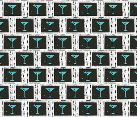 Martini Time 3-ch fabric by jackofalltradescrafter on Spoonflower - custom fabric