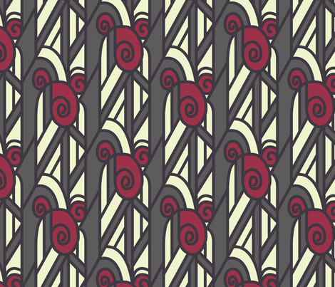 Art Deco fabric by janelle_wooten on Spoonflower - custom fabric