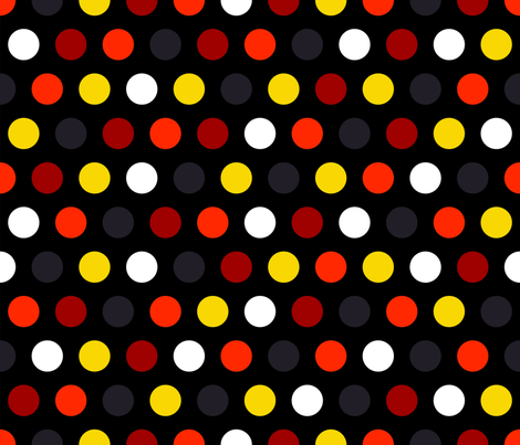 Polka Dot {2} fabric by illustrative_images on Spoonflower - custom fabric