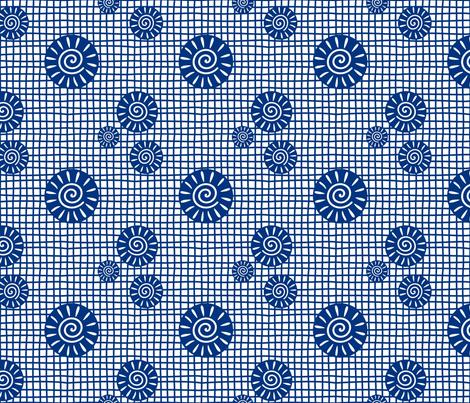 GeoPlaid fabric by yellowstudio on Spoonflower - custom fabric
