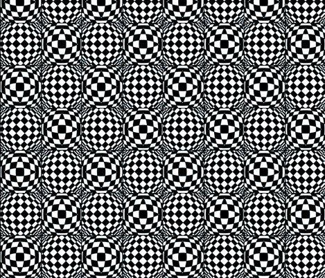 Optical Delusion  fabric by whimzwhirled on Spoonflower - custom fabric