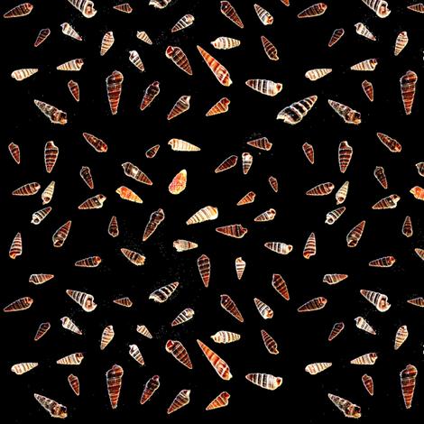 Ditsy Shells fabric by farrellart on Spoonflower - custom fabric