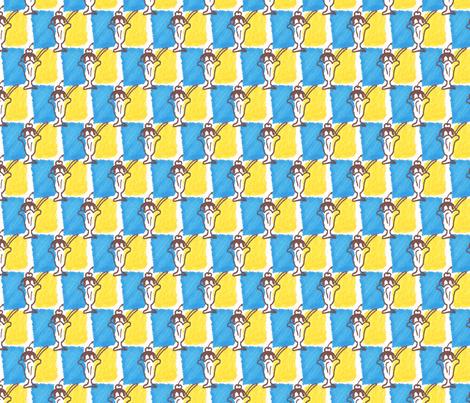 Ice Cream Sundae fabric by siya on Spoonflower - custom fabric