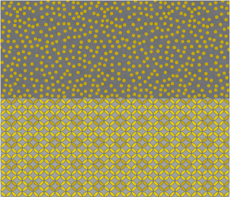 circle_leaf_and_dot_grey_half_yard fabric by holli_zollinger on Spoonflower - custom fabric