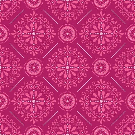 Stellar Damask fabric by robyriker on Spoonflower - custom fabric