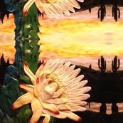 cactus flower big