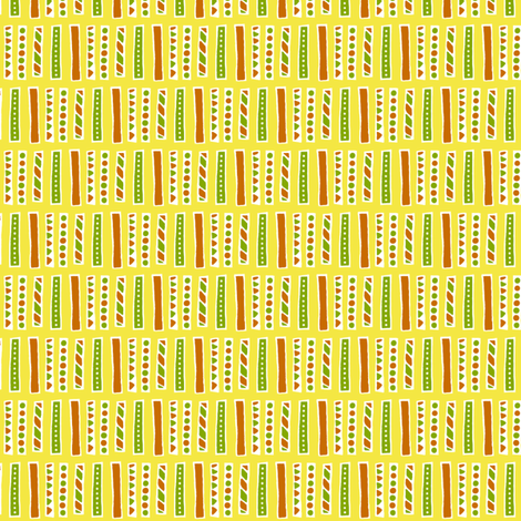 Citrus Bars fabric by siya on Spoonflower - custom fabric