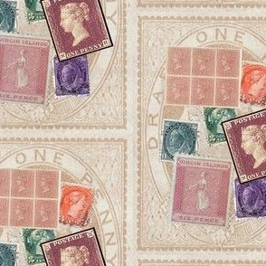 victorian stamps