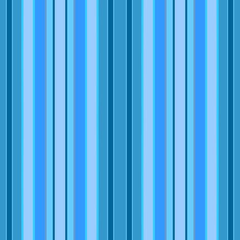 blue stripes fabric by krs_expressions on Spoonflower - custom fabric