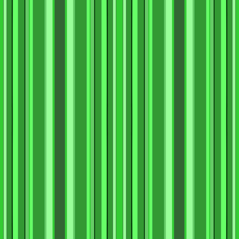 green stripes fabric by krs_expressions on Spoonflower - custom fabric