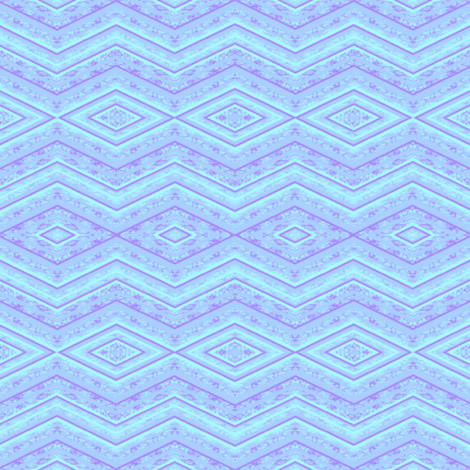 light blue zig zag  fabric by krs_expressions on Spoonflower - custom fabric