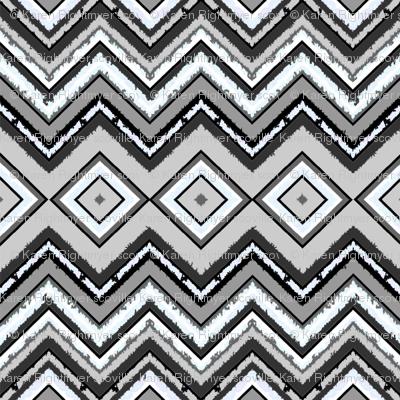 gray zig zag