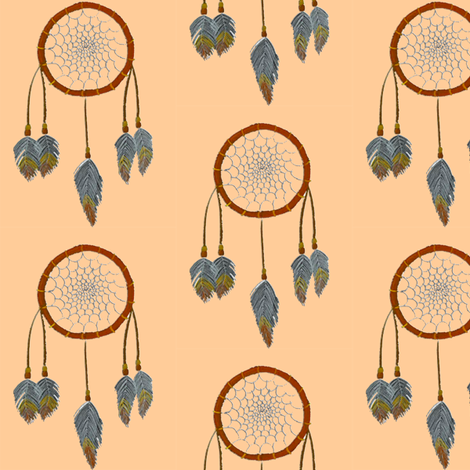 dream catcher  fabric by krs_expressions on Spoonflower - custom fabric