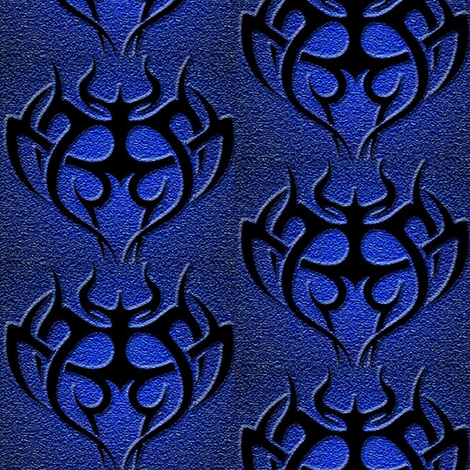 tribal symbol fabric by krs_expressions on Spoonflower - custom fabric