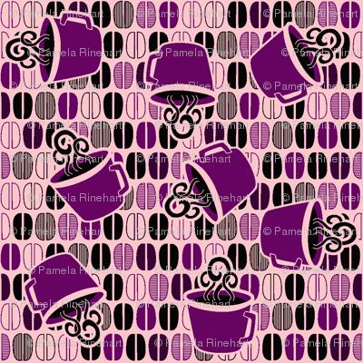 © 2012Coffee Cafe-purplepink