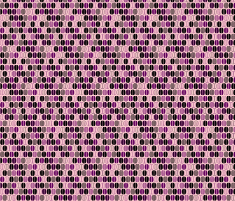 © 2011 Coffee Time Beans - pink and purble fabric by glimmericks on Spoonflower - custom fabric